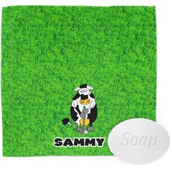 Cow Golfer Wash Cloth (Personalized)