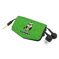 Cow Golfer Genuine Leather Cord Wrap (Personalized)