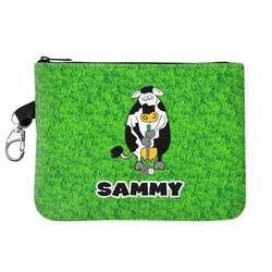Cow Golfer Golf Accessories Bag (Personalized)