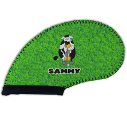 Cow Golfer Golf Club Cover (Personalized)