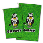 Cow Golfer Golf Towel - Full Print w/ Name or Text