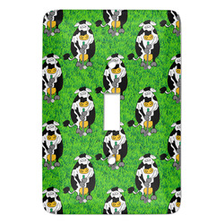 Cow Golfer Light Switch Covers - Multiple Toggle Options Available (Personalized)