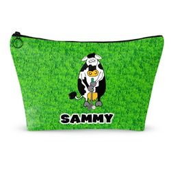 Cow Golfer Makeup Bags (Personalized)