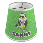 Cow Golfer Empire Lamp Shade (Personalized)