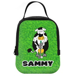 Cow Golfer Neoprene Lunch Tote (Personalized)