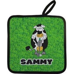 Cow Golfer Pot Holder (Personalized)