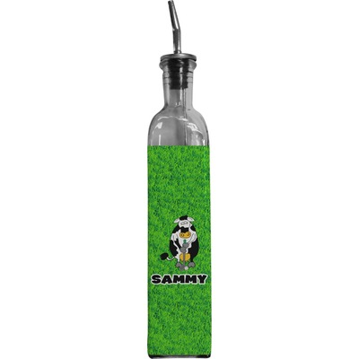 Cow Golfer Oil Dispenser Bottle (Personalized)