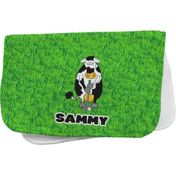 Cow Golfer Burp Cloth (Personalized)