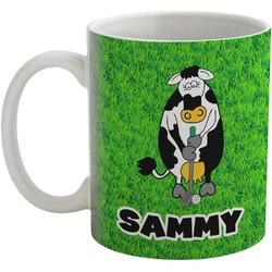 Cow Golfer Coffee Mug (Personalized)