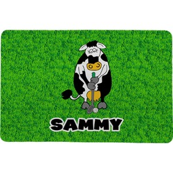 Cow Golfer Comfort Mat (Personalized)