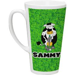 Cow Golfer Latte Mug (Personalized)