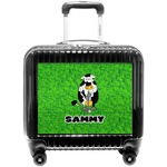 Cow Golfer Pilot / Flight Suitcase (Personalized)