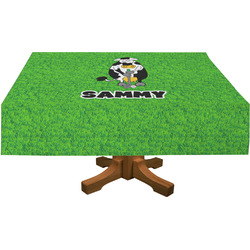 Cow Golfer Tablecloth (Personalized)