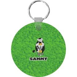 Cow Golfer Keychains - FRP (Personalized)