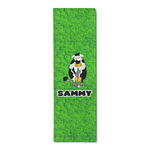 Cow Golfer Runner Rug - 3.66'x8' (Personalized)