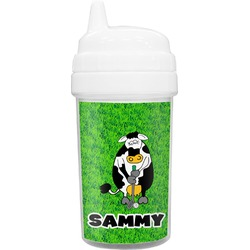 Cow Golfer Sippy Cup (Personalized)