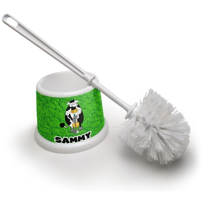 Cow Golfer Toilet Brush (Personalized)