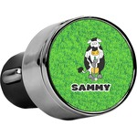 Cow Golfer USB Car Charger (Personalized)