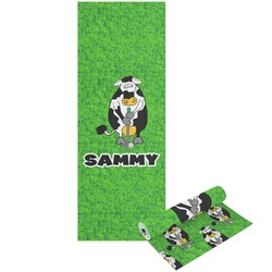 Cow Golfer Yoga Mat - Printable Front and Back (Personalized)