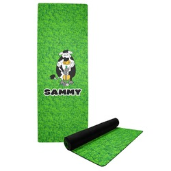 Cow Golfer Yoga Mat (Personalized)