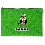Cow Golfer Zipper Pouch (Personalized)