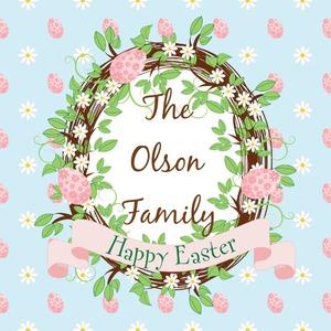 Easter Vines- Eggs & Daises