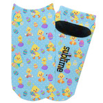 Happy Easter Adult Ankle Socks (Personalized)