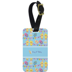 Happy Easter Metal Luggage Tag w/ Multiple Names