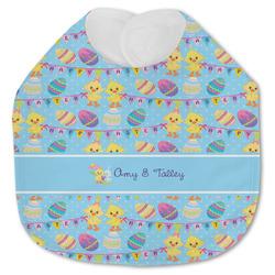 Happy Easter Jersey Knit Baby Bib w/ Multiple Names