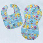 Happy Easter Baby Bib & Burp Set w/ Multiple Names