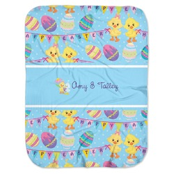 Happy Easter Baby Swaddling Blanket (Personalized)