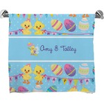 Happy Easter Full Print Bath Towel (Personalized)