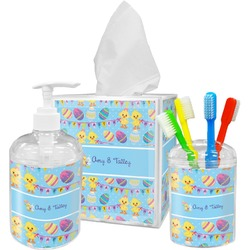 Happy Easter Bathroom Accessories Set (Personalized)