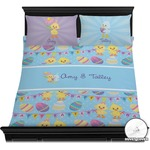 Happy Easter Duvet Cover Set (Personalized)
