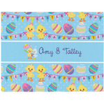 Happy Easter Woven Fabric Placemat - Twill w/ Multiple Names