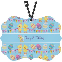 Happy Easter Rear View Mirror Decor (Personalized)