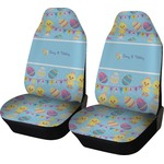 Happy Easter Car Seat Covers (Set of Two) (Personalized)