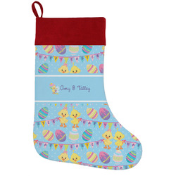Happy Easter Holiday Stocking w/ Multiple Names