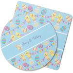 Happy Easter Rubber Backed Coaster (Personalized)