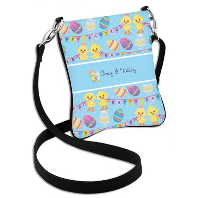 Happy Easter Cross Body Bag - 2 Sizes (Personalized)