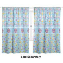 "Happy Easter Curtains - 56""x80"" Panels - Lined (2 Panels Per Set) (Personalized)"