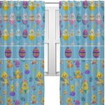 Happy Easter Curtains (2 Panels Per Set) (Personalized)
