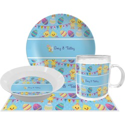 Happy Easter Dinner Set - 4 Pc (Personalized)