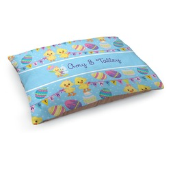 Happy Easter Dog Pillow Bed (Personalized)