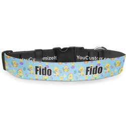 Happy Easter Deluxe Dog Collar (Personalized)
