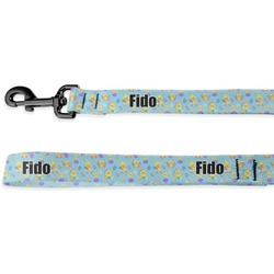 Happy Easter Deluxe Dog Leash (Personalized)