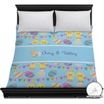 Happy Easter Duvet Cover (Personalized)