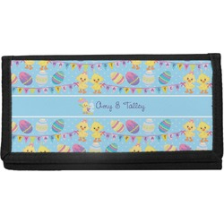 Happy Easter Canvas Checkbook Cover (Personalized)