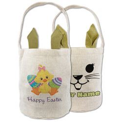 Happy Easter Easter Basket (Personalized)