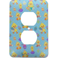Happy Easter Electric Outlet Plate (Personalized)